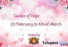 Garden of Hope RFL Event February 2021 - Teleport Hub - teleporthub.com