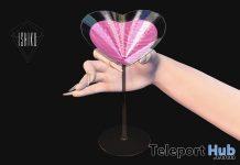 Pink Cocktail Drink February 2021 Group Gift by ISHIKU - Teleport Hub - teleporthub.com