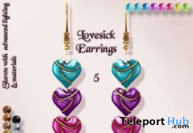 Lovesick Necklace & Earrings 60L Promo by IT! - Teleport Hub - teleporthub.com