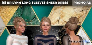 New Release: [S] Brilynn Long Sleeves Sheer Dress by [satus Inc] - Teleport Hub - teleporthub.com