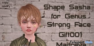 Male Shape Sasha For Genus Strong Face 10L Promo by Rukojop - Teleport Hub - teleporthub.com