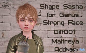 Male Shape Sasha For Genus Strong Face 10L Promo by Rukojop - Teleport Hub - teleporthub.com
