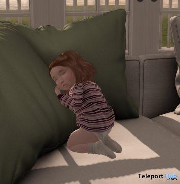 Rainbow Nuggets Sleepy Baby Kid Pose February 2021 Gift by Rainbow Nuggets - Teleport Hub - teleporthub.com