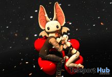 Soft Heart Couple Pose February 2021 Group Gift by *AAP* - Teleport Hub - teleporthub.com