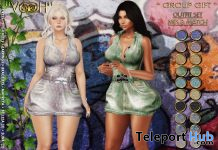 Dress & Heels Fatpack February 2021 Group Gift by VOOH Designs - Teleport Hub - teleporthub.com