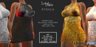 Aybala Dress Fatpack February 2021 Group Gift by Leibah - Teleport Hub - teleporthub.com