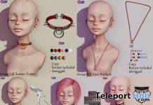 Hair, Choker, & Pendant February 2021 Group Gift by Eternus - Teleport Hub - teleporthub.com