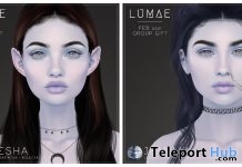 Amesha & Jemima Skin Galatea Tone For Genus February 2021 Group Gift by Lumae - Teleport Hub - teleporthub.com