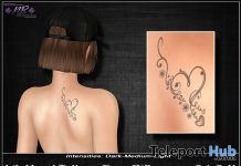 LiL Heart Tattoo February 2021 Group Gift by Nick'n BrinK - Teleport Hub - teleporthub.com