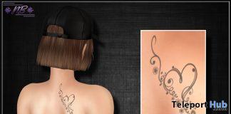 LiL Heart Tattoo February 2021 Group Gift by Nick'n BrinK - Teleport Hub - teleporthub.com