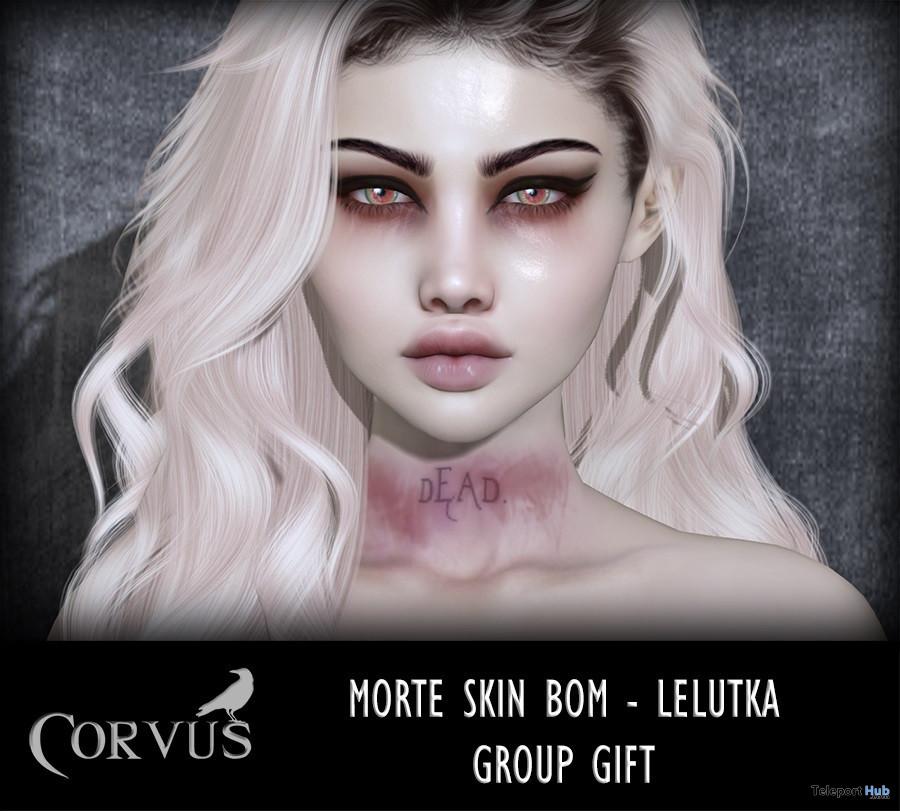 Morte BOM Skin For Lelutka Heads February 2021 Group Gift by Corvus - Teleport Hub - teleporthub.com