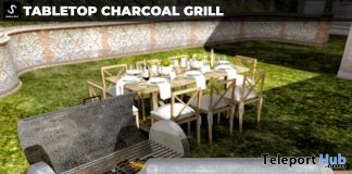 New Release: Tabletop Charcoal Grill by [satus Inc] - Teleport Hub - teleporthub.com