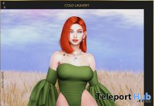New Release: Ariel Bodysuit by Cold Laundry @ WIP Event March 2021 - Teleport Hub - teleporthub.com