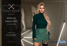 Camille Outfit Special Edition March 2021 Group Gift by Ema's Secret - Teleport Hub - teleporthub.com