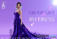 8M Dress International Women's Day 2021 Group Gift by Belle Epoque - Teleport Hub - teleporthub.com