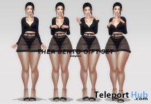 Thea Bento Pose Set March 2021 Group Gift by babyboo - Teleport Hub - teleporthub.com