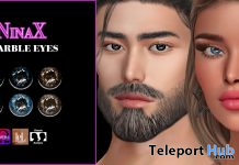 Marble Eyes March 2021 Group Gift by NinaX - Teleport Hub - teleporthub.com