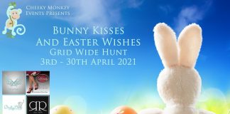 Bunny Kisses and Easter Wishes Hunt 2021 - Teleport Hub - teleporthub.com