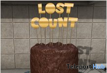 Lost Count Cake March 2021 Subscriber Gift by [Krescendo] - Teleport Hub - teleporthub.com
