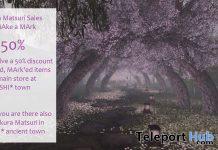 MAke a MArk's Sakura Matsuri Festival 2021 - Teleport Hub - teleporthub.com