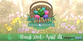 MadPea's Mad Easter Egg Hunt 2021 - Teleport Hub - teleporthub.com