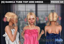 New Release: [S] Danica Tube Top Mini Dress by [satus Inc] - Teleport Hub - teleporthub.com