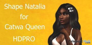 Shape Natalia for Catwa Queen HDPRO and Legacy 10L Promo by Rukojop - Teleport Hub - teleporthub.com
