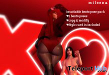 Insatiable Couple BDSM Bento Poses March 2021 Gift by mileena - Teleport Hub - teleporthub.com
