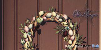 Egg Wreath April 2021 Group Gift by Star Sugar - Teleport Hub - teleporthub.com