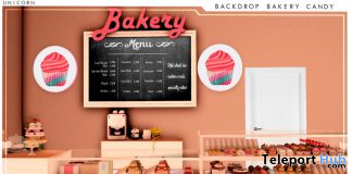 New Release: Bakery Candy Backdrop by UNICORN @ Sense Event March 2021 - Teleport Hub - teleporthub.com
