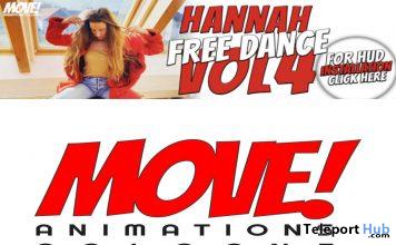 Hannah 80 Bento Dance Gift by MOVE! Animations Cologne - Teleport Hub - teleporthub.com
