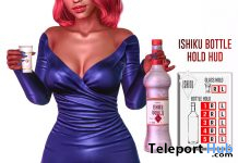 Bottle Hold Bento Animation HUD March 2021 Group Gift by ISHIKU - Teleport Hub - teleporthub.com