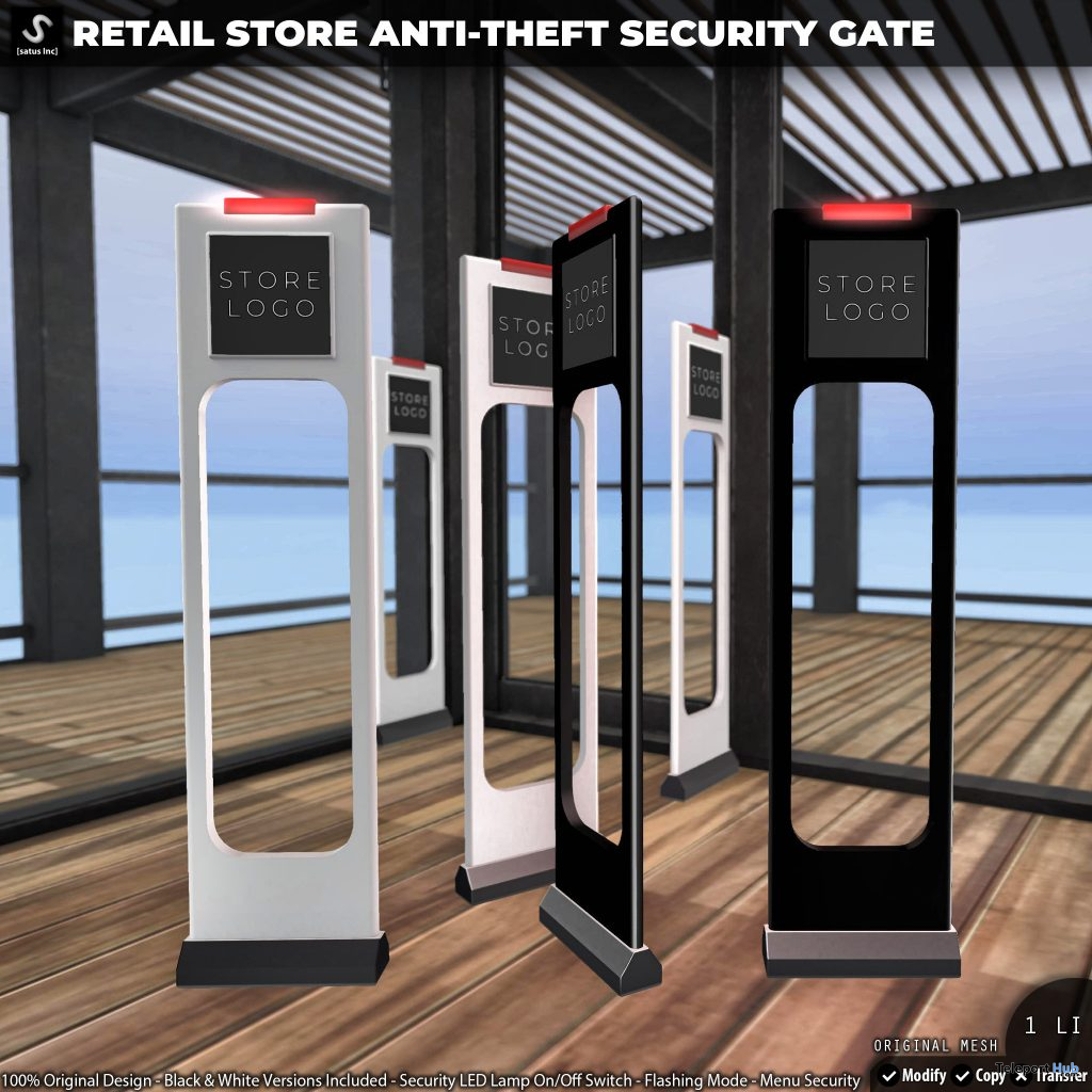 New Release: Retail Store Anti-Theft Security Gate by [satus Inc] - Teleport Hub - teleporthub.com