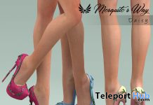 Daisy Heels April 2021 Group Gift by Mosquito's Way - Teleport Hub - teleporthub.com
