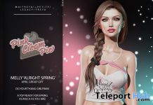 Melly Alright Spring Top April 2021 Group Gift by Pink Cream Pie - Teleport Hub - teleporthub.com
