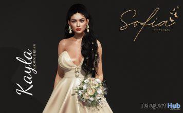 New Release: Kayla Gown by Sofia @ Sense Event April 2021 - Teleport Hub - teleporthub.com