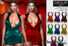 Leigha Dress Fatpack April 2021 Group Gift by Bens Beauty - Teleport Hub - teleporthub.com