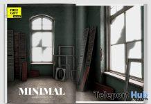 Abandoned Room Backdrop April 2021 Group Gift by MINIMAL - Teleport Hub - teleporthub.com