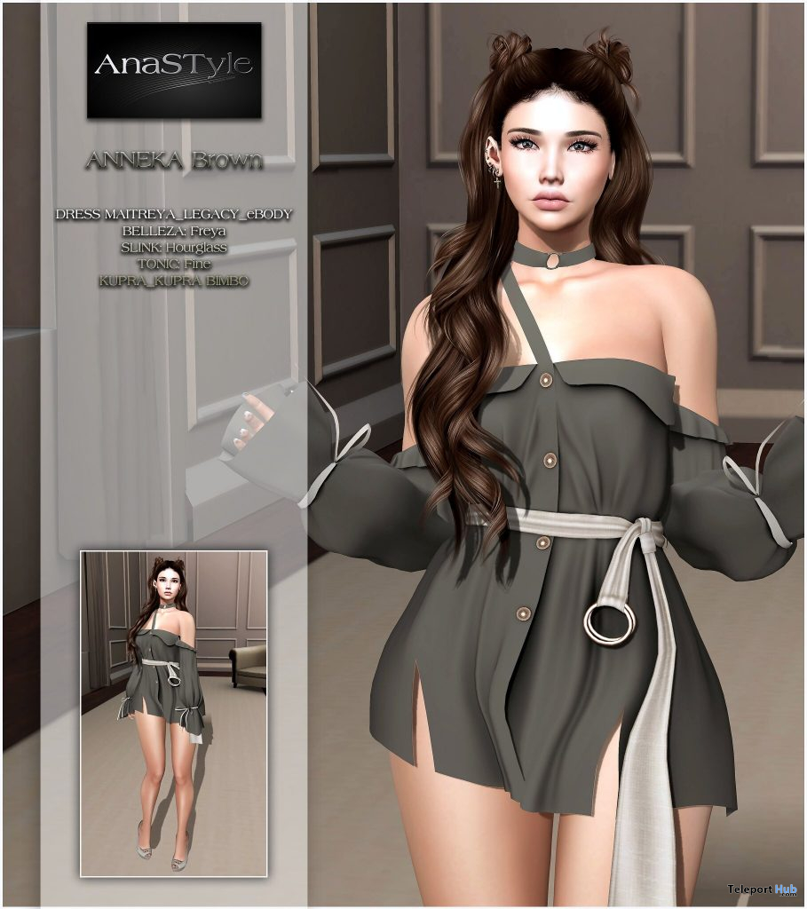 New Release: Anneka Dress by AnaSTyle @ WIP April 2021 - Teleport Hub - teleporthub.com