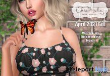 Amanda Crop Cami April 2021 Group Gift by ChicModa - Teleport Hub - teleporthub.com