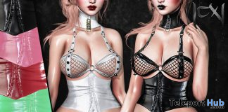 Latex Corset BOM April 2021 Group Gift by CerberusXing - Teleport Hub - teleporthub.com