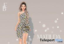 Matilda Dress April 2021 Group Gift by Belle Epoque - Teleport Hub - teleporthub.com