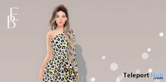 Matilda Dress April 2021 Group Gift by Belle Epoque - Teleport Hub - teleporthub.com