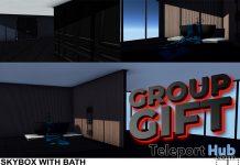 Skybox With Bath & Poses April 2021 Group Gift by WRONG - Teleport Hub - teleporthub.com