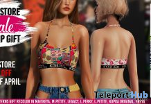 Summer Top Patterns April 2021 Group Gift by [ vagrant ] - Teleport Hub - teleporthub.com