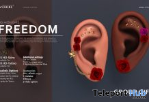 Freedom Mesh Ears April 2021 Group Gift by ANDORE - Teleport Hub - teleporthub.com