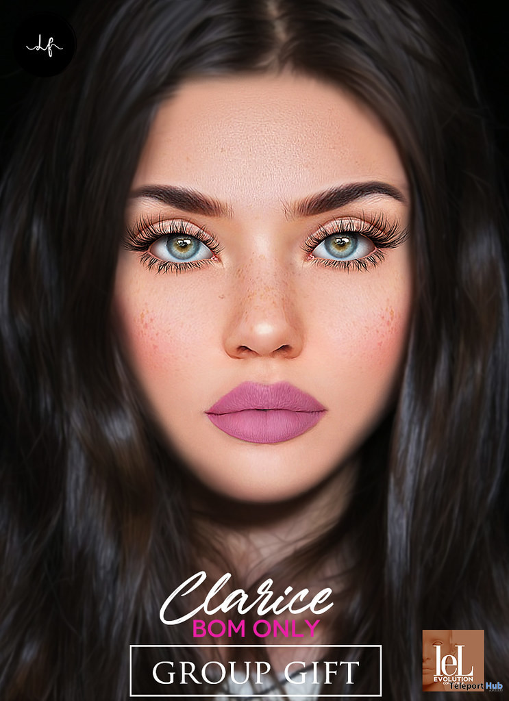 Clarice Skin Summer Tone For Lelutka Evo April 2021 Group Gift by LE FORME - Teleport Hub - teleporthub.com