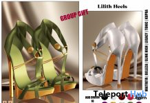 Lilith Heels Fatpack April 2021 Group Gift by Hilly Haalan - Teleport Hub - teleporthub.com