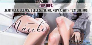 Naiike Sandals April 2021 Group Gift by Luas - Teleport Hub - teleporthub.com