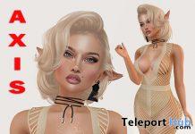 Chris Shape For Lelutka Lily Head 7L Promo by Axis - Teleport Hub - teleporthub.com
